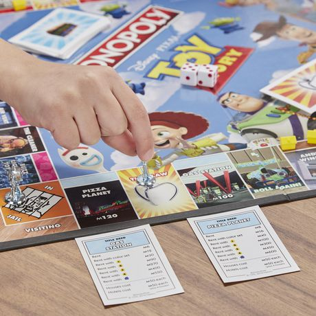 Monopoly Toy Story Board Game Family and Kids - image 7 of 9