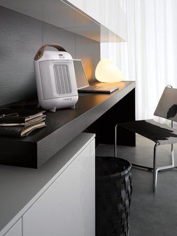 De'Longhi Capsule Ceramic Heater, white - image 2 of 3