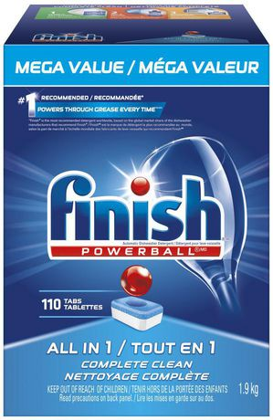 Finish® Powerball All In 1 Fresh Scent Dishwasher Detergent | Walmart Canada