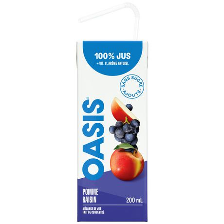 Oasis Classic Apple Grape Juice - image 3 of 5