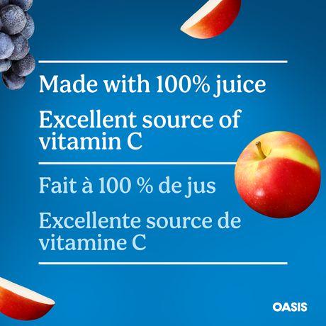 Oasis Classic Apple Grape Juice - image 4 of 5