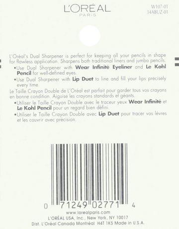 L'Oréal Paris Dual Sharpener Eye Liner - image 3 of 3