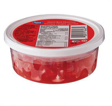 Great Value Glace Red Cherries - image 1 of 2