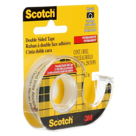 scotch permanent double sided tape walmart canada. Black Bedroom Furniture Sets. Home Design Ideas
