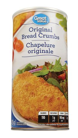 Great Value Plain Bread Crumbs - image 1 of 2