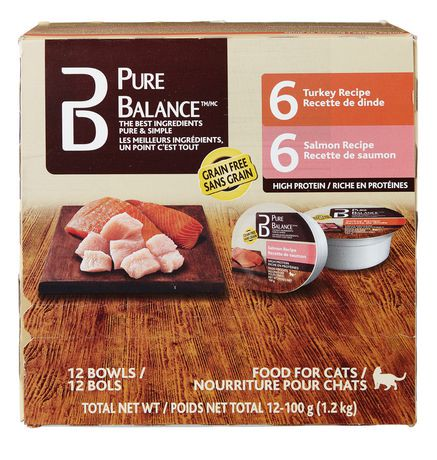 Pure Balance Food Cats Chicken Salmon Recipe
