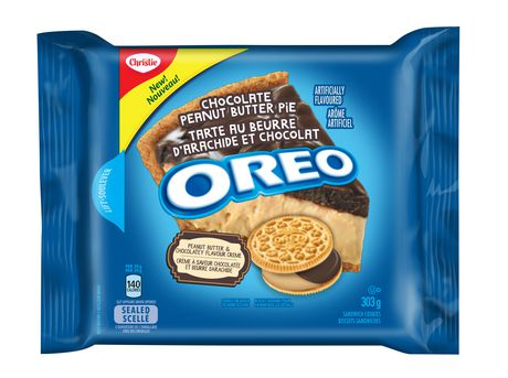 Oreo Cookies Chocolate Peanut Butter Pie 303g - image 1 of 2