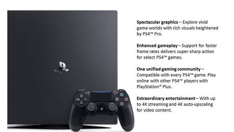 PlayStation®4 PRO 1TB Console - image 6 of 8