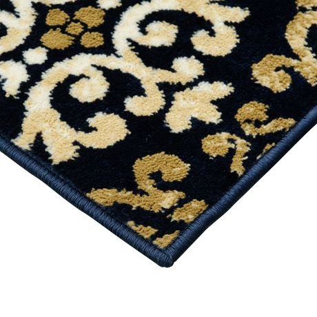 Hometrends Kingsmere Navy Area Rug Walmart Canada