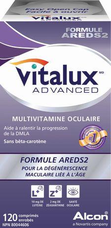 Comprimés Vitalux(MD) ADVANCED, 120comprimés - image 2 de 2