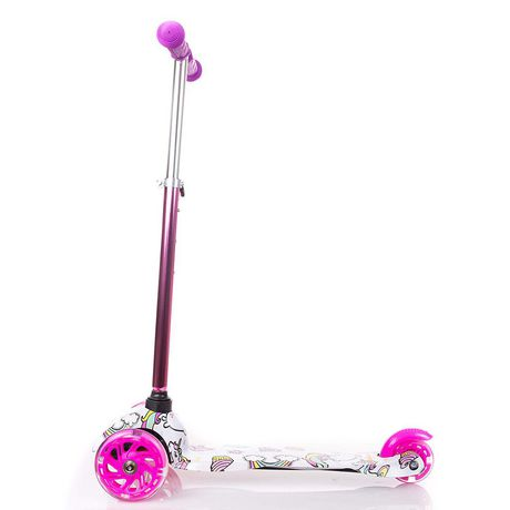 Rugged Racers Kids Scooter With Unicorn Print Design - image 8 of 8