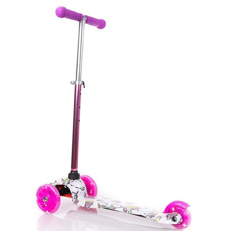 Rugged Racers Kids Scooter With Unicorn Print Design - image 7 of 8