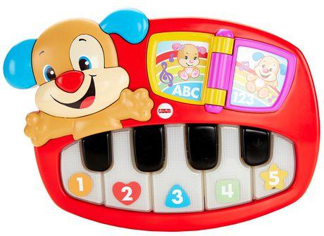 Fisher Price Rires Et Eveil Coffret De Jeu Le Piano De Puppy Edition Anglaise
