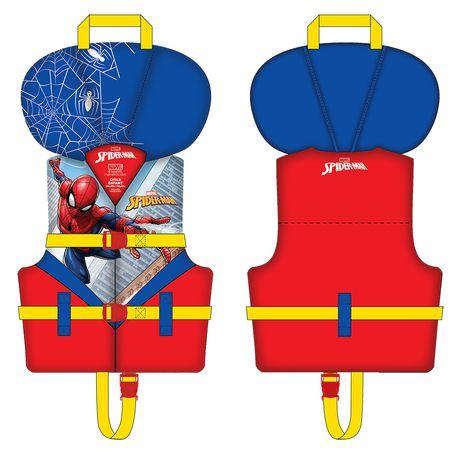 Canada Enfants Flottaison Veste Marvel Man Pour Walmart Spider De FRqwqx18T
