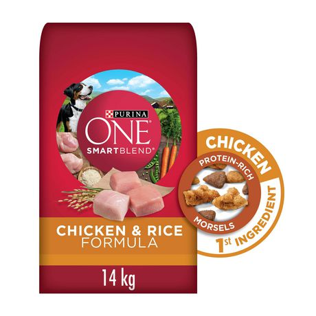 Purina ONE SmartBlend Natural Dry Dog Food; Chicken & Rice Formula - image 1 of 9