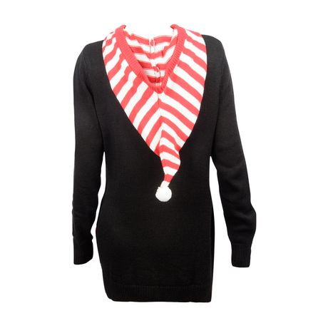 "George Women's "" Santa's favourite"" Christmas Sweater - image 2 of 3"