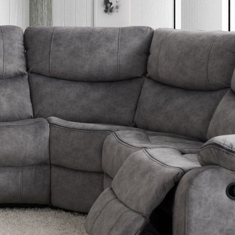 CorLiving Syracuse Corner Wedge Modular Chair for Sofa Sectional - image 1 of 8