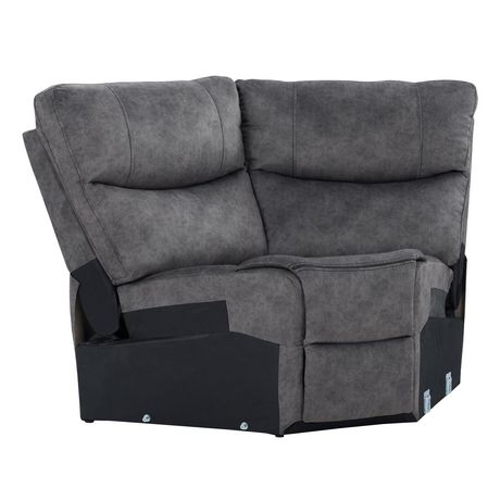 CorLiving Syracuse Corner Wedge Modular Chair for Sofa Sectional - image 2 of 8