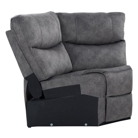 CorLiving Syracuse Corner Wedge Modular Chair for Sofa Sectional - image 3 of 8