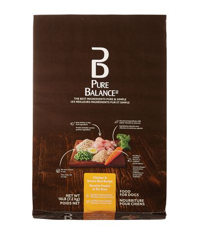 Pure Balance Chicken & Brown Rice Dog Food - image 1 of 1