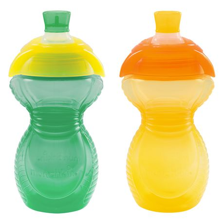 Munchkin Click Lock™  9oz Bite Proof Sippy Cup - 2 count - image 2 of 4