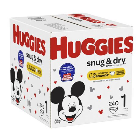 Couches HUGGIES Snug & Dry, Emballage Econo - image 7 de 7