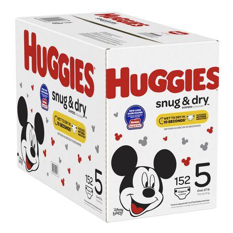 HUGGIES Snug & Dry Diapers, Econo Pack - image 7 of 7