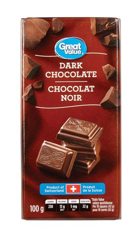 Great Value Dark Chocolate - image 1 of 2