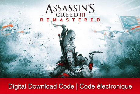 Assassin S Creed Iii Remastered Nintendo Switch Digital Code