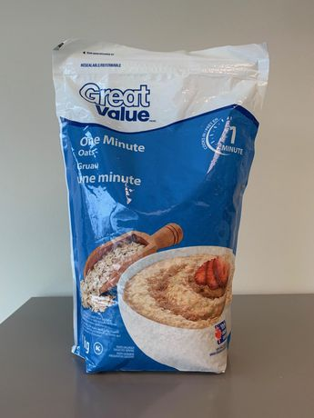 Great Value One Minute Oats - image 1 of 2