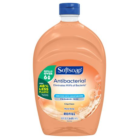 Softsoap Antibacterial Liquid Hand Soap, Crisp Clean - image 1 of 2