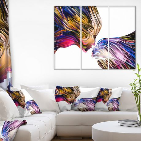design art metaphorical mind painting canvas print | walmart canada
