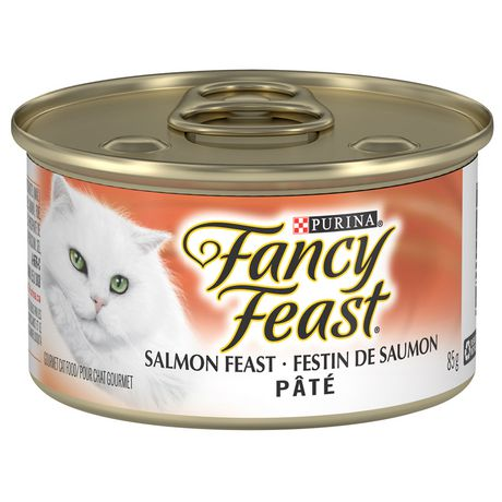 Fancy Feast Pate Salmon Feast Wet Cat Food