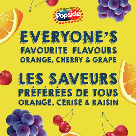 Popsicle Orange, Cherry & Grape Ice Pops - image 4 of 6
