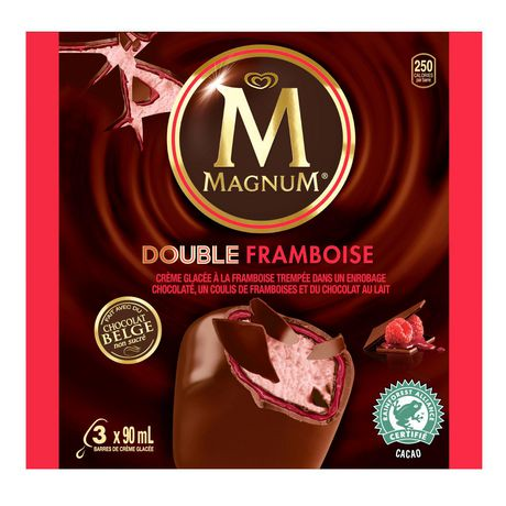 Magnum Ice Cream Bar Double Raspberry 3 PC | Walmart Canada