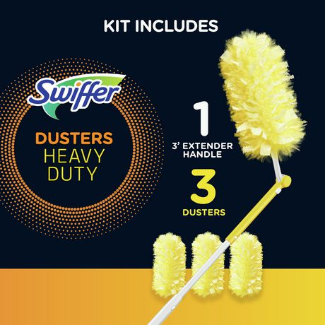 Swiffer Dusters 360 Extendable Handle Starter Kit - image 3 of 7