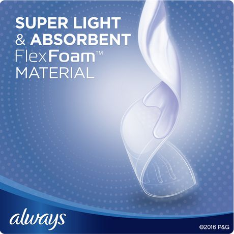 Always Infinity Size 4 Overnight Pads with Wings, Unscented - image 6 of 7
