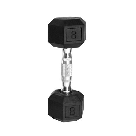 CAP Barbell Rubber Coated Hex Dumbbell, 8 lbs - image 1 of 1