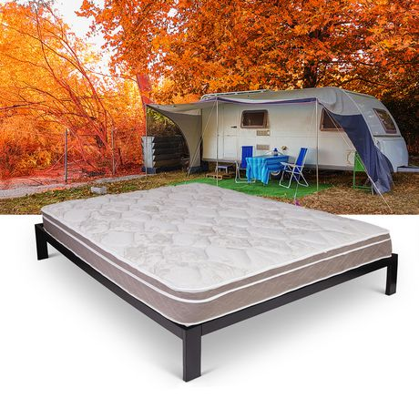 Journey RV Eurotop Innerspring Short Queen Size Mattress - image 1 of 3