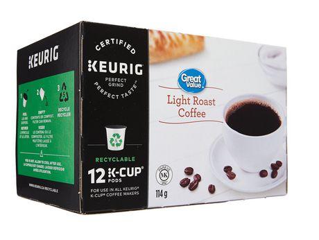 Dosettes K-Cup de café Great Value, torréfaction légère - image 4 de 7