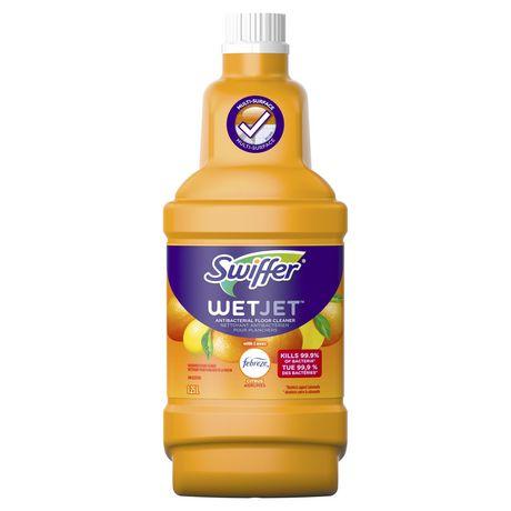 Swiffer Wetjet Antibacterial Floor Cleaner With Febreze