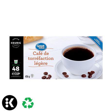 Great Value Keurig Light Roast Coffee - image 3 of 7