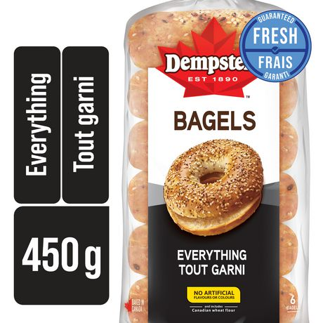 Dempster's Everything Bagels - image 1 of 3