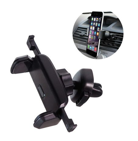 Exian Car Mount Holder Air Vent for Mobile / GPS Black