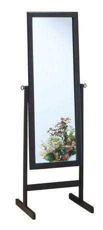 Miroir avec cadre en bois monarch specialties en for Miroir walmart