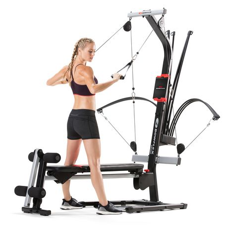 Bowflex PR1000 Home Gym with 25+ Exercises and 200 lbs. Power Rod Resistance - image 1 of 6
