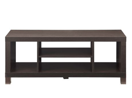 hometrends Espresso Hollow Core TV Stand - image 3 of 3