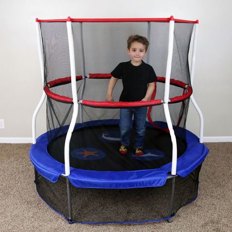 "Skywalker Trampolines 60"" Round Seaside Adventure Trampoline Mini Bouncer - image 2 of 9"