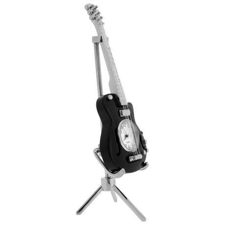 Horloge de bureau r plique de guitare les pau c202bk for Le bureau pau