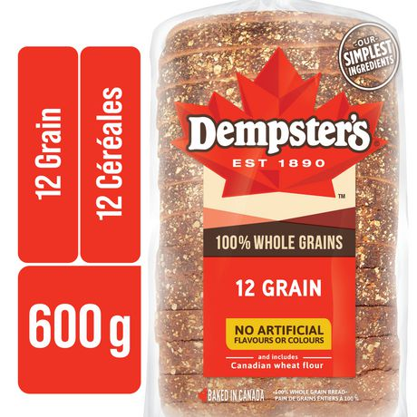 Dempster's® 100% Whole Grains 12 Grain Bread - image 1 of 8